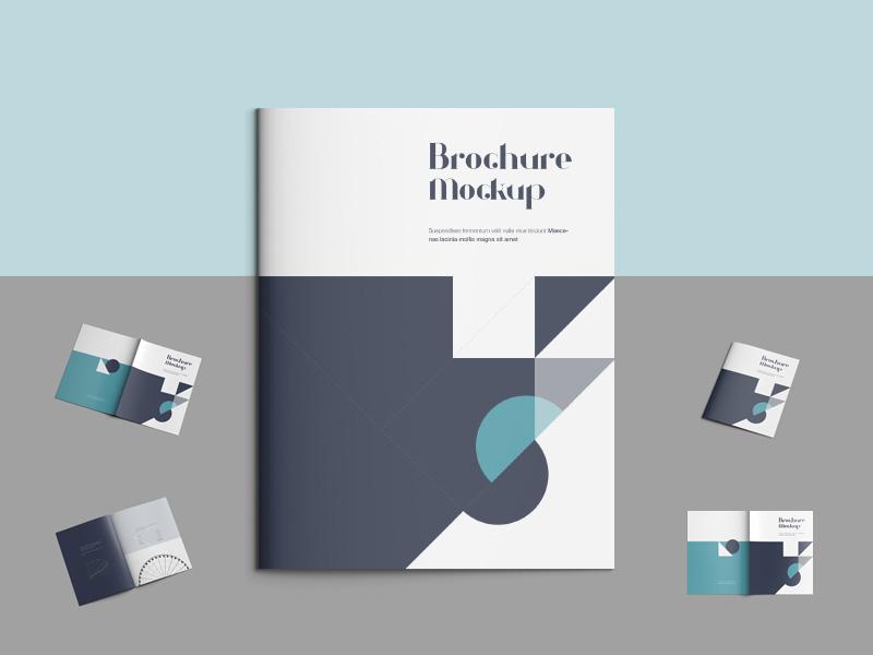 sample brochure of mockup design