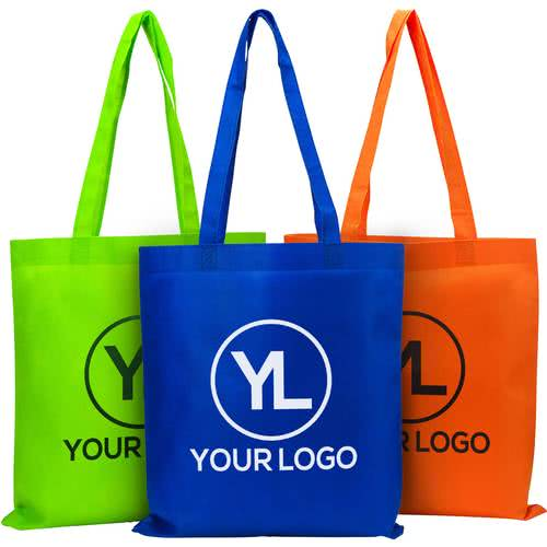sample merchandise with logo