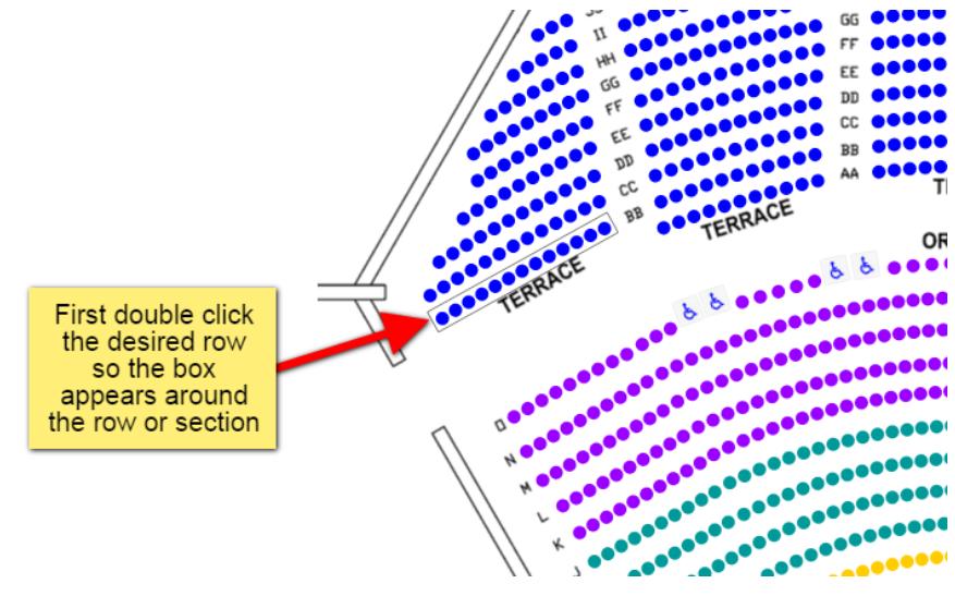 How do I put seats on hold - 1