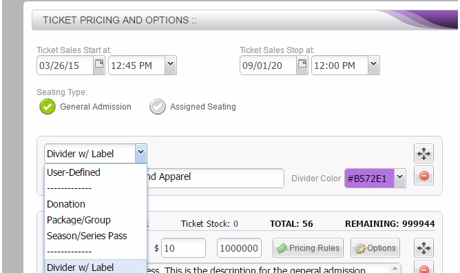 how-do-i-add-dividers-with-labels-to-organize-my-ticket-options