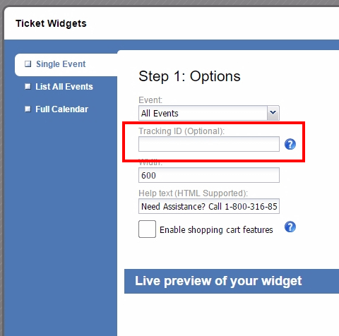what-does-the-ticket-widget-tracking-id-do