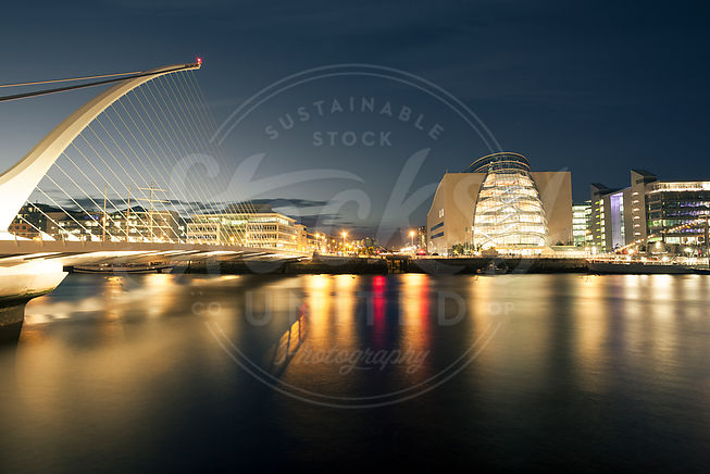 Samuel Becket bridge in Dublin, Ireland - stock photo by Michael Jay on Stocksy United