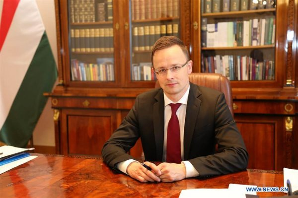 Interview: China's development to have important effects on Europe's future: Hungarian minister