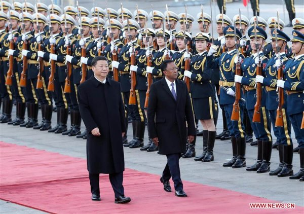 China's Belt & Road Initiative golden opportunity for Africa: official