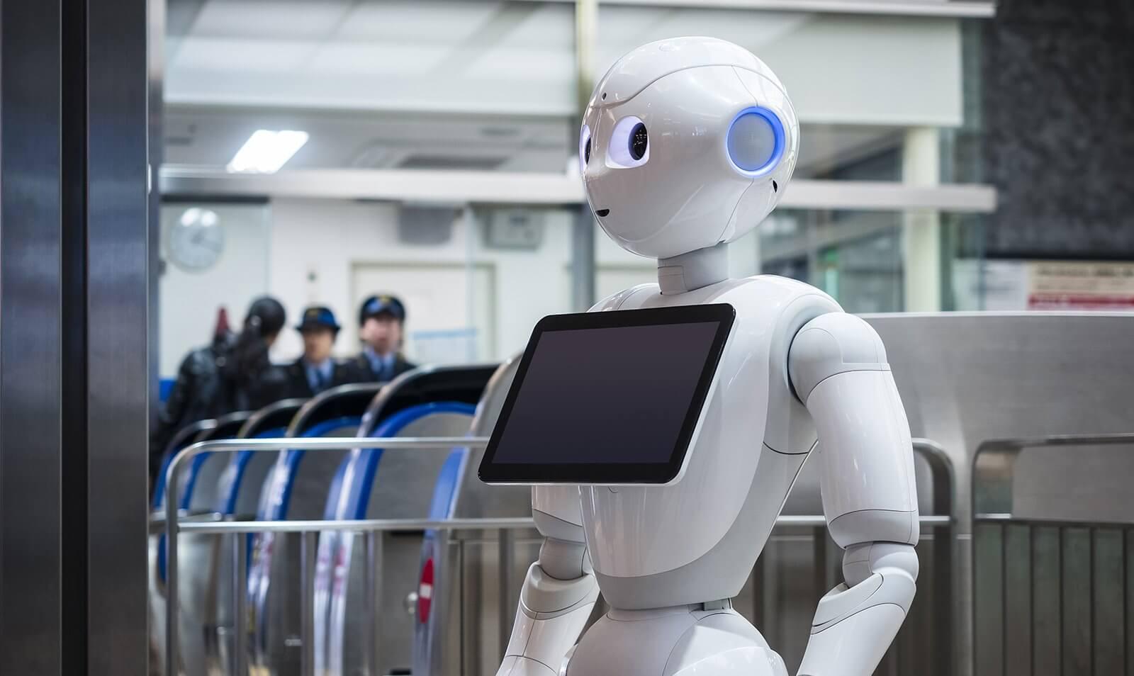 AI Powered Robots - Pepper - Tech Mahindra