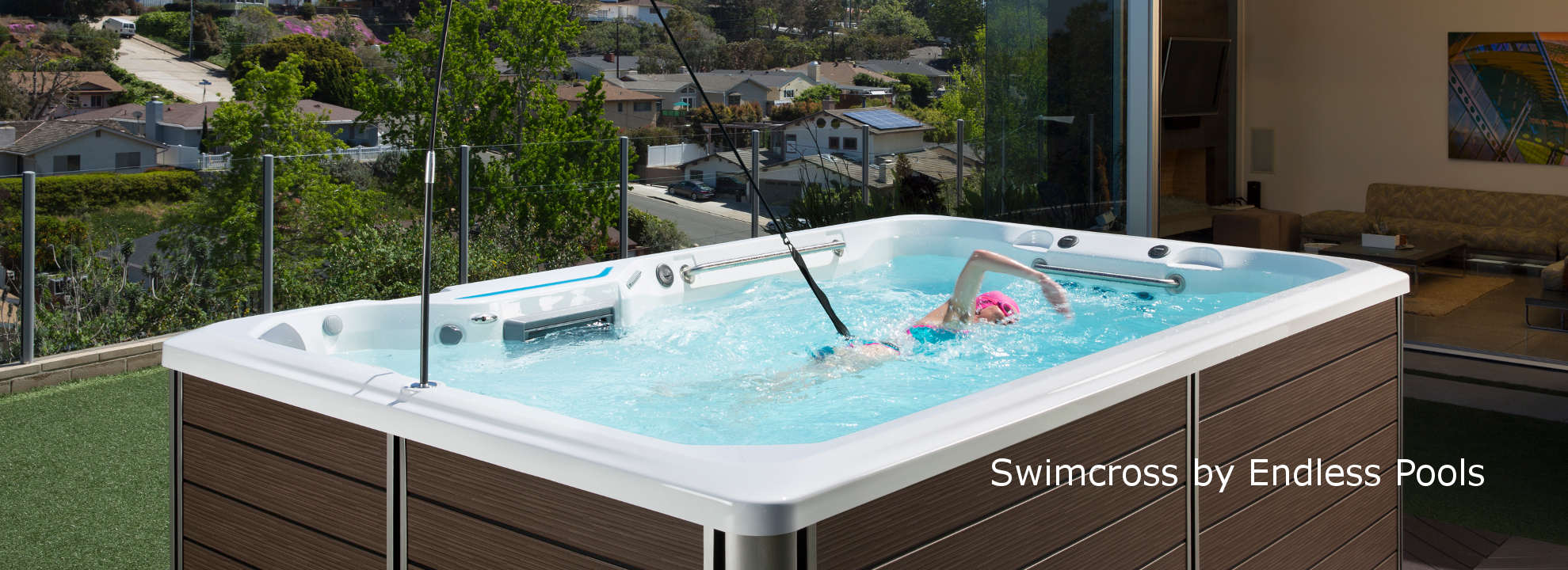 Swimcross aquatic exercise system from endless pools - How much is an endless pool swim spa ...