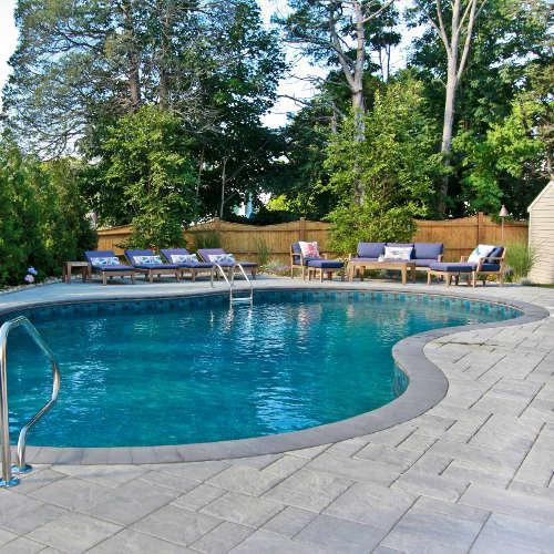 Inground Pool Install Newburyport Ma
