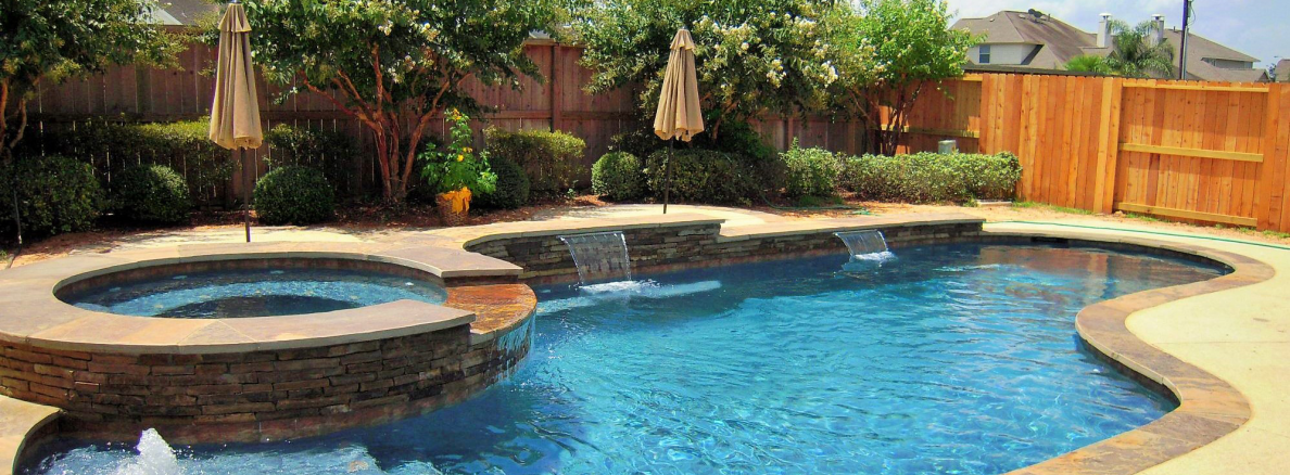 Pools by price precision pools spas houston tx for Pool designs under 30000