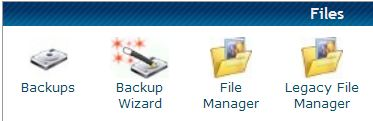 HostGator cPanel file management