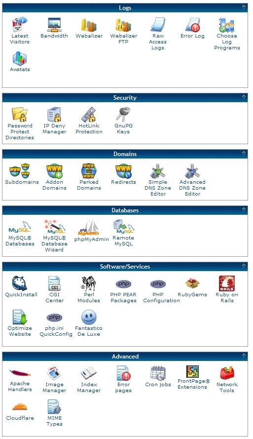 HostGator cPanel domains services advanced