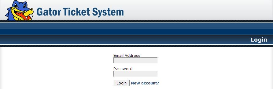 HostGator support ticket system