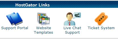 HostGator support cpanel