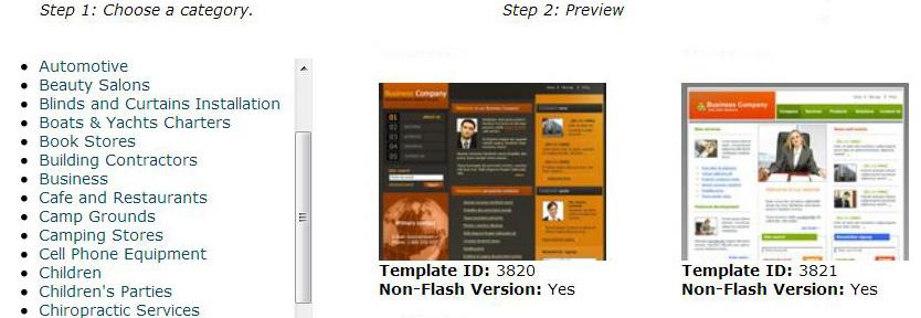HostGator login preview design