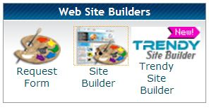 HostGator login sitebuilder icon