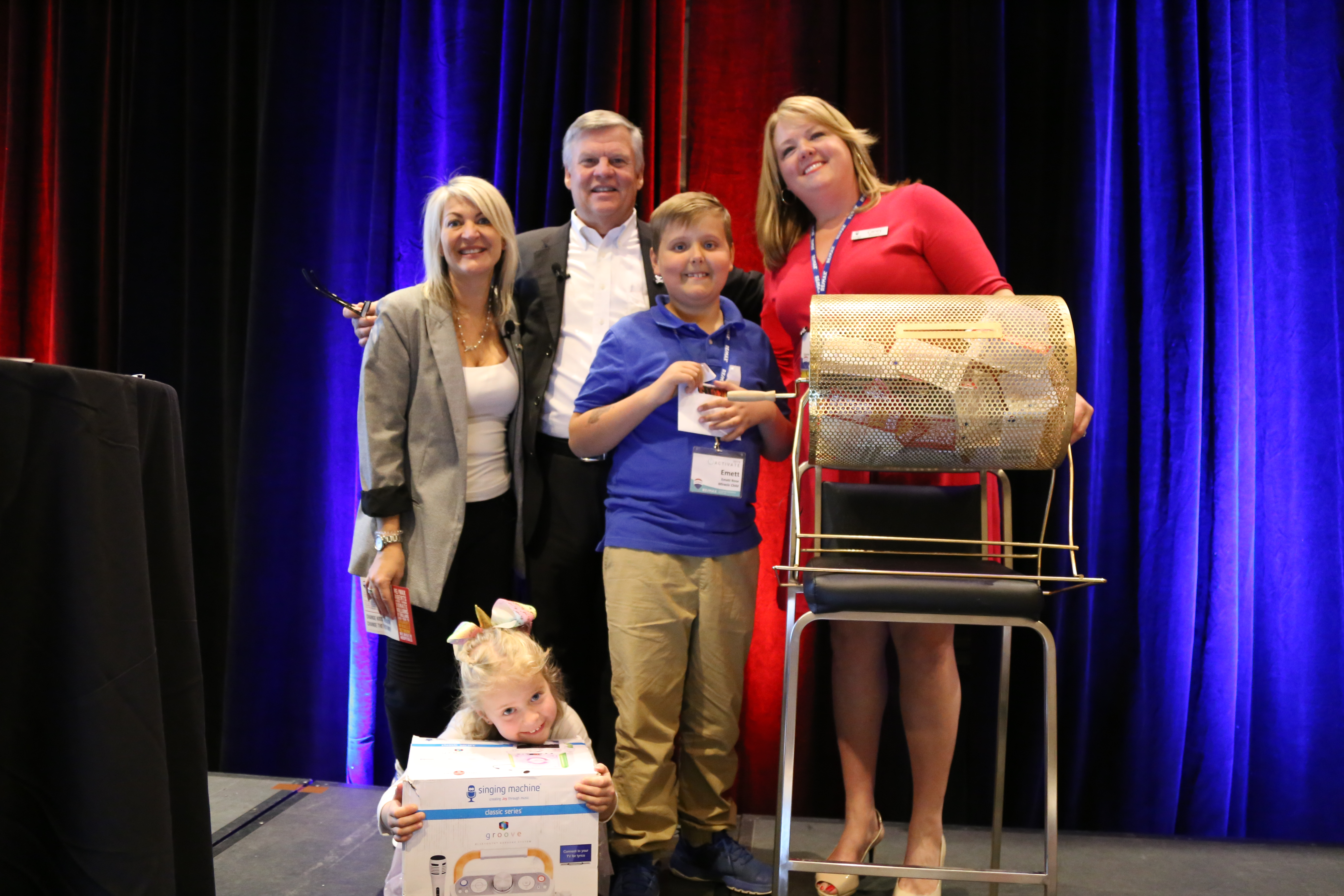 RE/MAX Affiliates Raise $100,000 for Children's Miracle Network