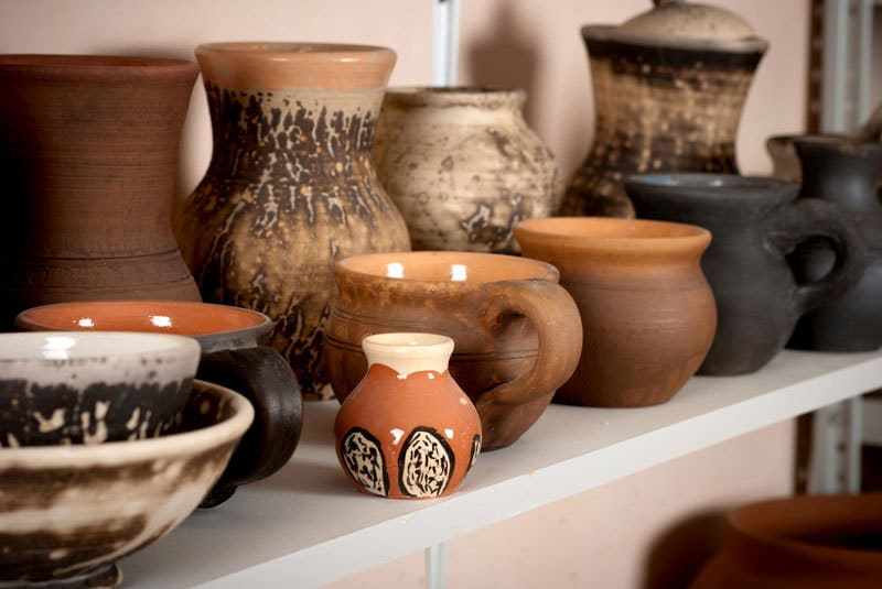 Shopping for Vintage and Antique Pottery at Estate Sales