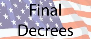 Final Decrees logo