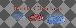 Battle Checkers logo