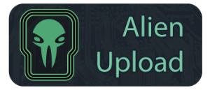Alien Upload logo