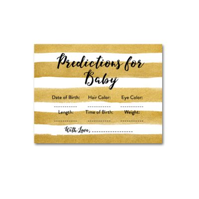 Baby-Shower-Printable-Gold-Foil-Predictions
