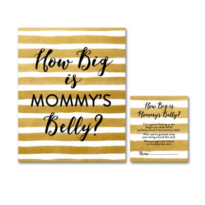 Baby-Shower-Printable-Gold-Foil-Mommys-Belly