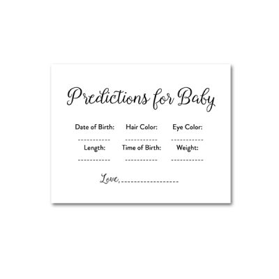 Baby-Shower-Printable-Elegant-Black-And-White-Predictions-For-Baby
