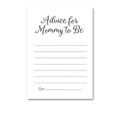 Baby-Shower-Printable-Elegant-Black-And-White-Advice