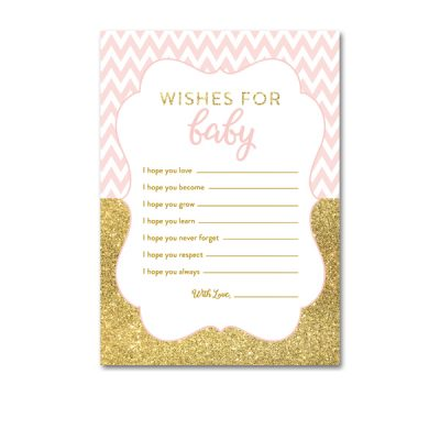 Baby-Shower-Printable-Pink-Gold-Chevron-Wishes-For-Baby