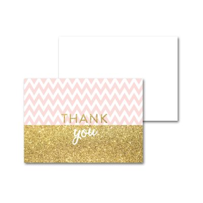 Baby-Shower-Printable-Pink-Gold-Chevron-Thank-You