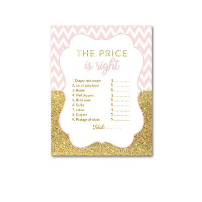 Baby-Shower-Printable-Pink-Gold-Chevron-Price-Is-Right