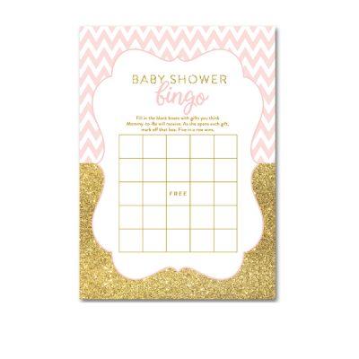 Baby-Shower-Printable-Pink-Gold-Chevron-Bingo