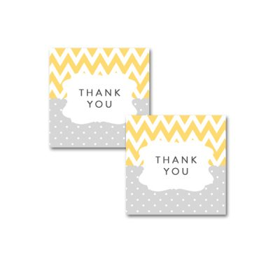 Baby-Shower-Yellow-Gray-Tags
