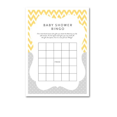 Baby-Shower-Yellow-Gray-Bingo