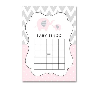 Baby-Shower-Pink-Gray-Elephant-Bingo