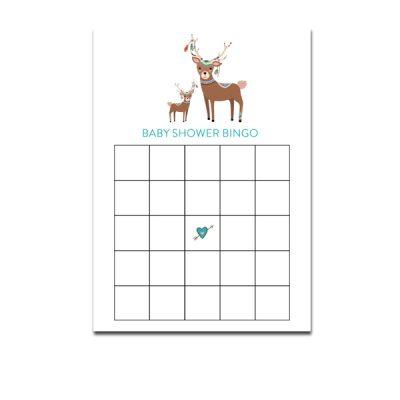 Baby-Shower-Tribal-Deer-Bingo