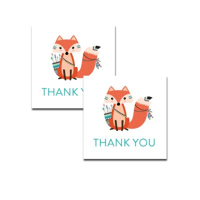 Baby-Shower-Printable-Tribal-Fox-Thank-You