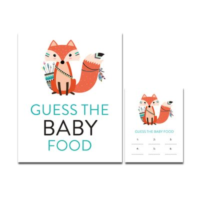 Baby-Shower-Printable-Tribal-Fox-Guess-Baby-Food