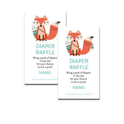 Baby-Shower-Printable-Tribal-Fox-Diaper-Raffle