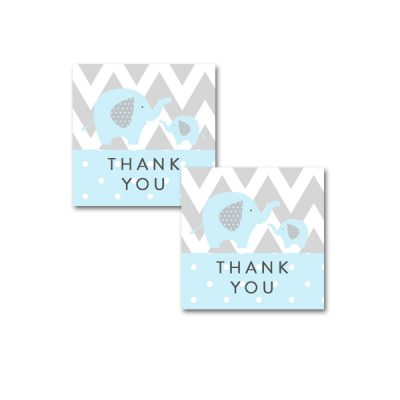 Baby-Shower-Printable-Blue-Gray-Elephant-Thank-You-Tag