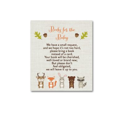 Woodland-Animals-Baby-Shower-Books-For-Baby