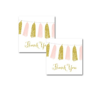 Baby-Shower-Pink-Gold-Tassle-Thank-You-Tags