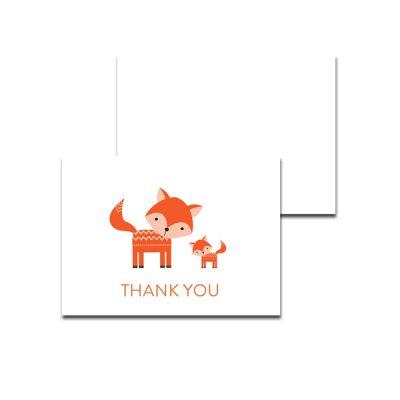 Baby-Shower-Cute-Woodland-Fox-Thank-You-Card