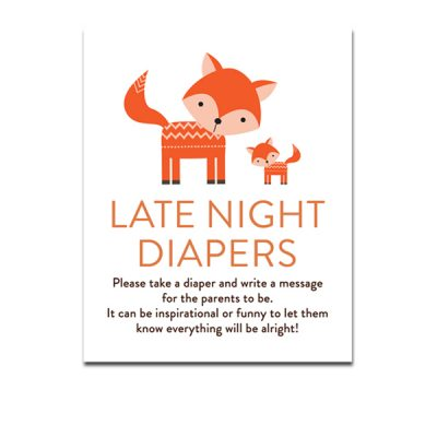 Baby-Shower-Cute-Woodland-Fox-Late-Night-Diapers