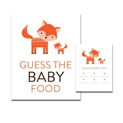 Baby-Shower-Cute-Woodland-Fox-Guess-Baby-Food