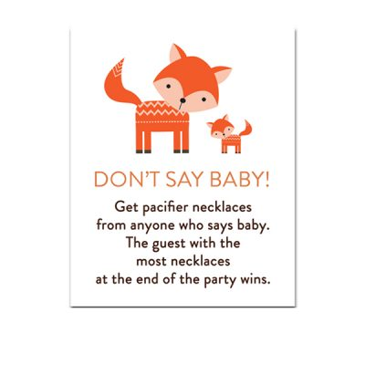 Baby-Shower-Cute-Woodland-Fox-Dont-Say-Baby