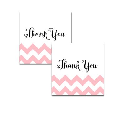 Baby-Shower-Pink-Chevron-Thank-You-Tag