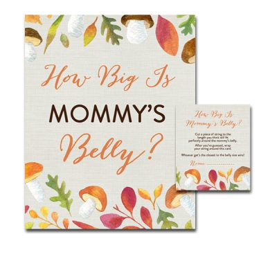 Baby-Shower-Fall-Leaves-How-Big-Is-Mommys-Belly