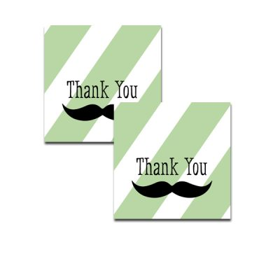 Green-Mustache-Thank-You-Tag