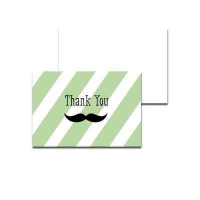 Green-Mustache-Thank-You