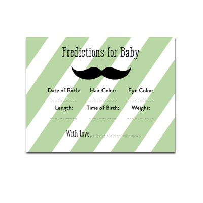Green-Mustache-Predictions-For-Baby